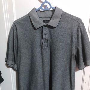 Nordstrom men's  Polo Medium. Gray